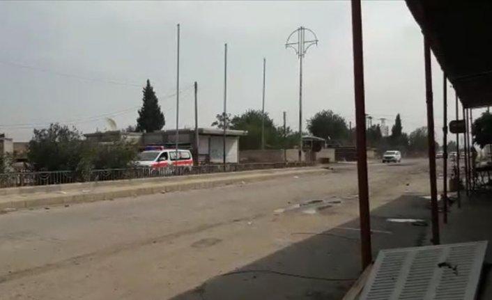 Teröristler Rasulayn'dan Kızılhaç ambulanslarıyla kaçıyor