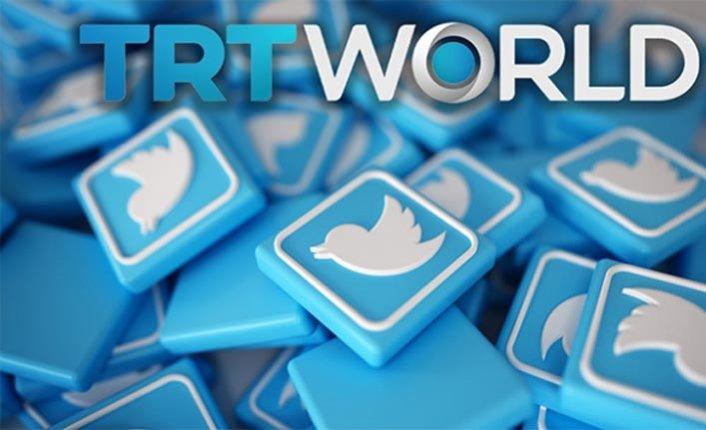 Twitter'dan TRT World içeriklerine sınırlama
