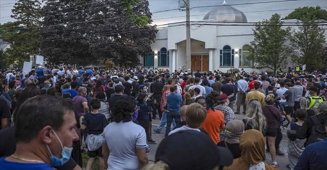 Kanada'da terör saldırısında katledilen Müslüman aile için tören düzenlendi