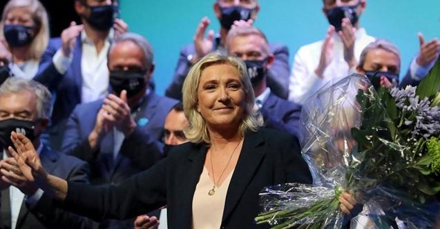 Le Pen yeniden seçildi