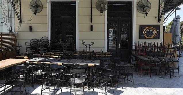 Yunan adası sessizliğe büründü