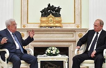 Abbas ve Putin Filistin'i konuştu