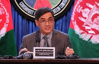 Afganistan Savunma Bakanı'nın bulunduğu binaya roketli saldırı