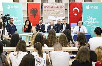"""Arnavutluk'ta """"Osmanlıca Yaz Okulu"""" başladı"""