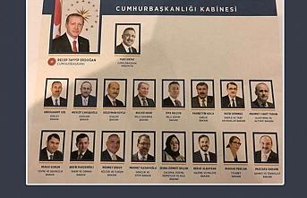 Başkan Erdoğan'ın yeni kabine ile ilk toplantısı bugün