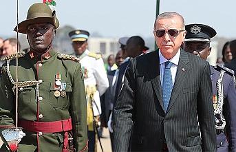 Başkan Erdoğan Zambiya'da