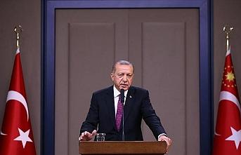 Erdoğan: Bir ayağımız Türkiye'de diğeri dünyayı dolaşıyor