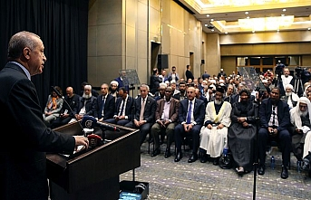 Erdoğan Güney Afrika'dan seslendi: Zulüm bitene kadar...