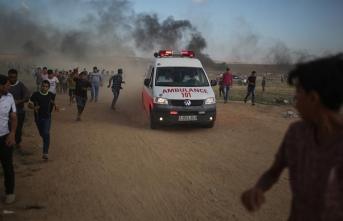 Filistinli genç Gazze'de şehit oldu