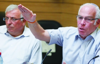 İsrail Tarım Bakanı Harem-i Şerif'te