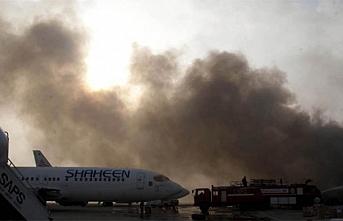 Dostum'un uçağının indiği havaalanı civarında patlama: 11 ölü