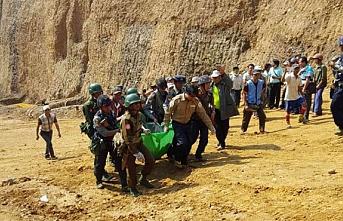 Myanmar yeşim taşı madeninde 15 ölüm