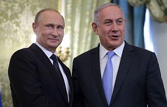 Putin ve Netanyahu'dan dostluk mesajları