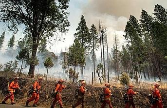 Şimdi de ABD 'deki Milli Parkın etrafı yanıyor