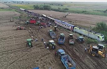 Tekirdağ'daki tren kazası için fon devrede