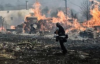 Yunanistan'daki yangın faciası ile ilgili 'kundaklama açıklaması'