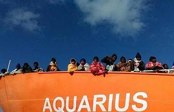 Avrupalılar Aquarius mülteci yardım gemisinde anlaştı