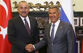 Çavuşoğlu: Rusya ile temaslar bölgenin güvenliği için önemli