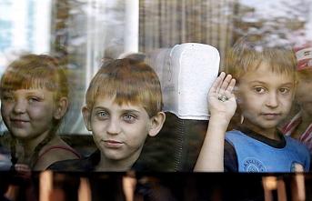 Donbas'ta çocukların dramı