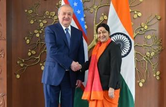 Hindistan Dışişleri Bakanı'ndan Özbekistan'a ziyaret
