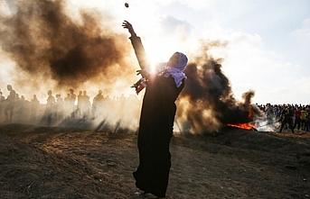 İsrail askerleri 50 Filistinliyi yaraladı