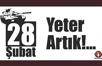 MAZLUMDER'den '28 Şubat mağdurları serbest bırakılsın' çağrısı