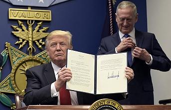 Pentagon'dan Trump'un kararına ters çıkış