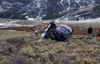 Rusya'da 18 kişiyi taşıyan helikopter düştü
