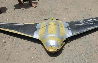 Yemen'de İran yapımı drone düşürüldü