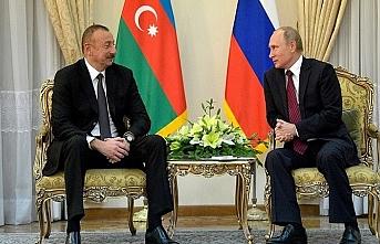 Aliyev, Putin'le Soçi'de görüştü