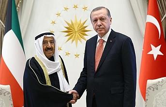 Başkan Erdoğan, Kuveyt Emiri ile görüştü