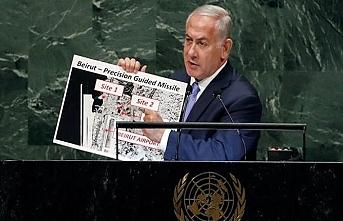 Bu yıl da  Netanyahu'nun BM gündemi değişmedi
