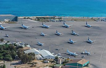 Çatışmalar hafifledi, havaalanı yeniden açıldı