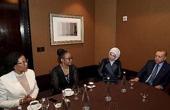 Erdoğan Malcolm X'in kızlarıyla görüştü
