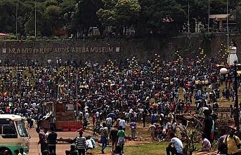 Etiyopya'da sivillere saldırılar protesto edildi