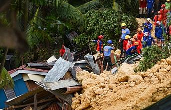 Filipinler'de yaşanan heyelanda ölü sayısı artıyor