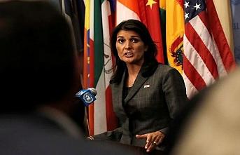 Filistin toplantısında İran'ı hedef aldı