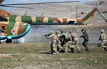 Gürcistan'da askeri tatbikat başladı