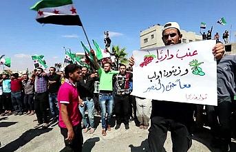 İdlib halkının özgürlük protestosu