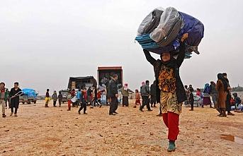 İdlib'de insanlar evlerini terk ediyor