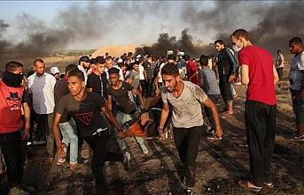 İsrail askerleri 1 Filistinliyi şehit etti