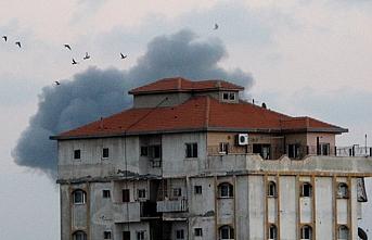 İsrail Gazze Şeridi'nde Hamas'a ait bir mevziyi vurdu