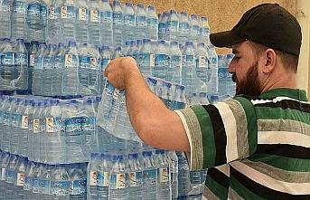Kerküklü Türkmenler Basra'ya içme suyu gönderdi