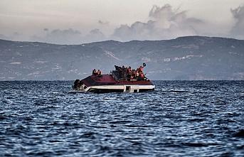 Libya açıklarında yine mülteci operasyonu