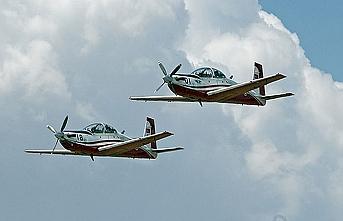 Sudan'da eğitim uçağı düştü
