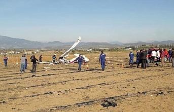 Antalya'da eğitim uçağı düştü, 2 ölü