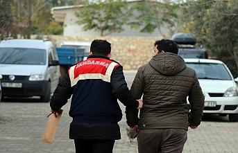 Aydın'da göçmenler yakalandı