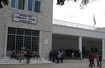 Batı Trakya'da okul eylemi son buldu