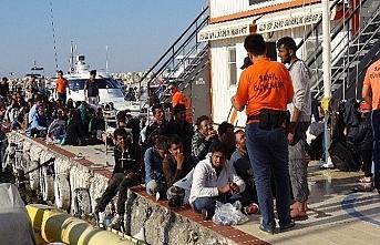 Çanakkale'de 5 aylık göçmen bilançosu
