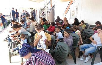Çanakkale'de göçmenler yakalandı